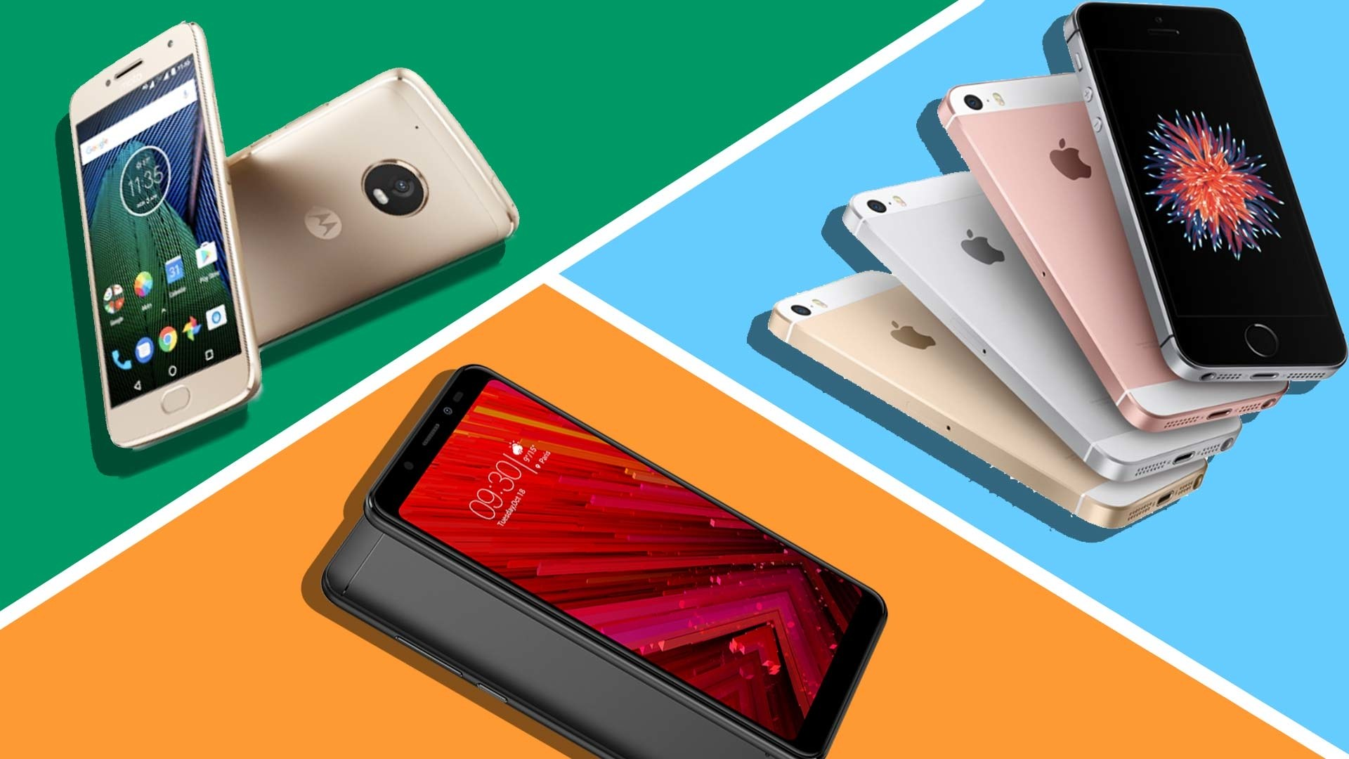 4 Best Smartphones under Rs. 20,000