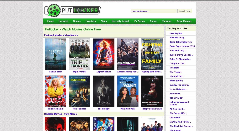 Alternatives to the Putlocker.ch | Watch Free Movies Putlocker ch