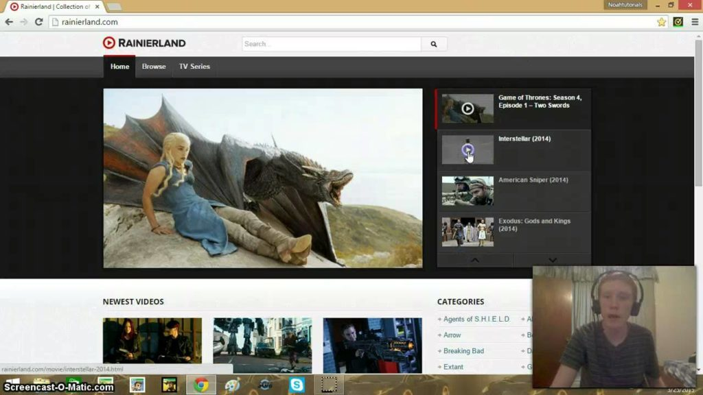 Rainierland Free Platform For Online Movies | Rainierland unblocked TV Shows